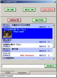KeyholeTV Channel Window
