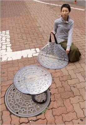 Manhole cover bag