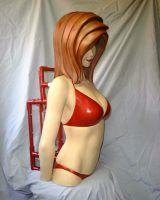 3D Anime Girl PC Case