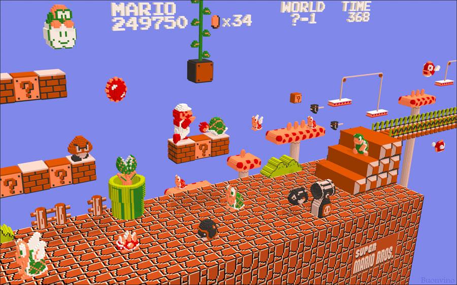 Mario Bros Arte Imagenes Creativas Y Graciosas Taringa