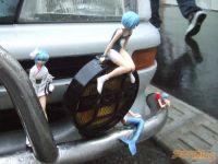 Rei Ayanami Car Akihabara