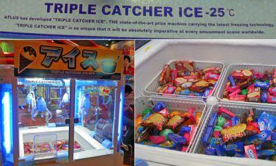 Triple Catcher Ice