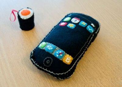Plush IPhone
