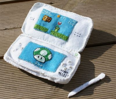 Plush Nintendo DS