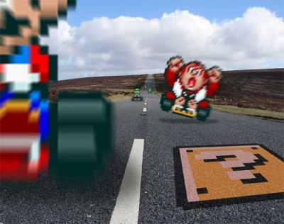 Retro NES: Mario Kart