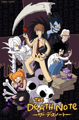 Death Note: Simpsons Style