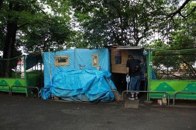 Miyashita Park Homeless
