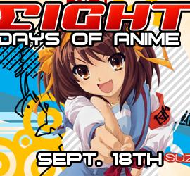 Ningin's 8 Days of Anime!