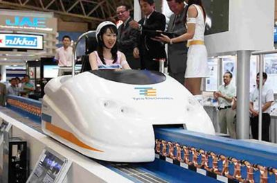 Tyco's Maglev Personal Car