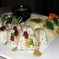 Thanksgiving Sushi Roll